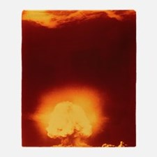 First atomic explosion at Los Alamos Throw Blanket