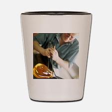 Glass blower Shot Glass