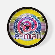 Global e-mail Wall Clock