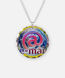 Global e-mail Necklace