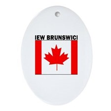 New Brunswick Oval Ornament