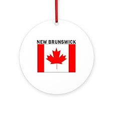 New Brunswick Ornament (Round)
