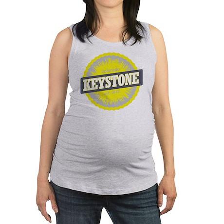 Keystone Ski Resort Colorado Ye Maternity Tank Top