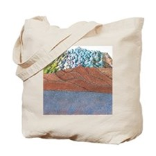 Formation of the Himalayas, artwork Tote Bag