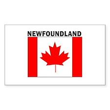 Newfoundland Rectangle Decal