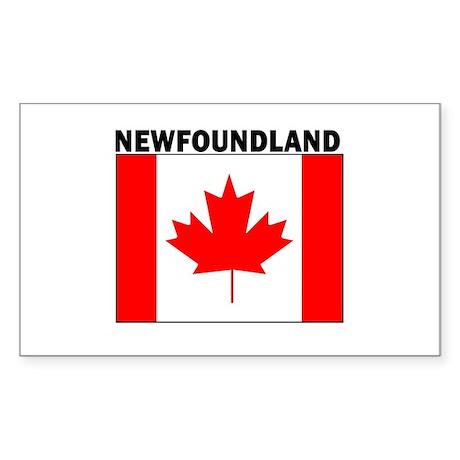 Newfoundland Rectangle Sticker
