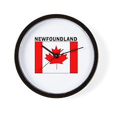 Newfoundland Wall Clock
