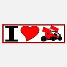 "10x3 I ""heart"" sprint Bumper Bumper Bumper Sticker"