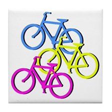 Bicycles Tile Coaster