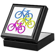 Bicycles Keepsake Box