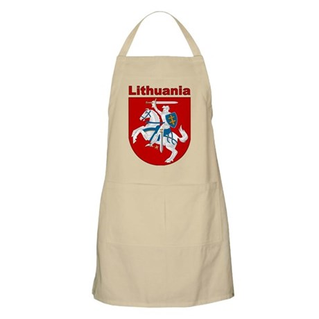 Lithuania Apparel BBQ Apron