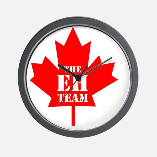 The Eh Team Wall Clock