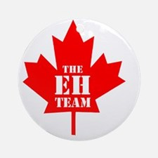 The Eh Team Round Ornament
