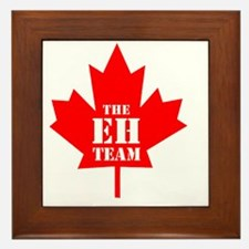 The Eh Team Framed Tile