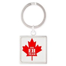 The Eh Team Square Keychain