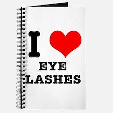 I Heart (Love) Eyelashes Journal