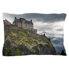 Dramatic lighting as storm clouds gath Pillow Case