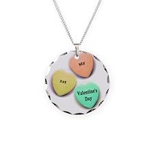Babys 1st Valentines Day Necklace
