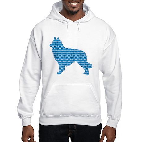 Bone Tervuren Hooded Sweatshirt