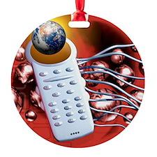 Global communications Ornament