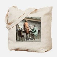 Halle and von Humboldt, Paris 1798 Tote Bag