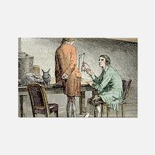 Halle and von Humboldt, Paris 179 Rectangle Magnet