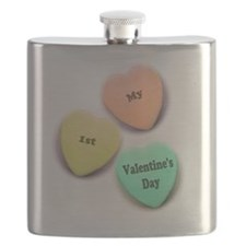 Baby's 1st Valentine's Day Flask