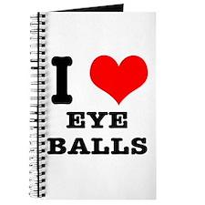 I Heart (Love) Eyeballs Journal
