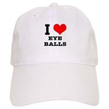 I Heart (Love) Eyeballs Baseball Cap