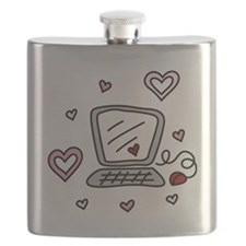 Computer Love Flask