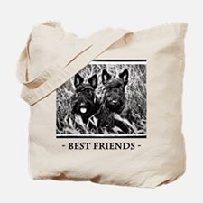 Best Friends - Scottie Dogs #2 Tote Bag