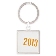 American Discovery 2013 Logo Square Keychain