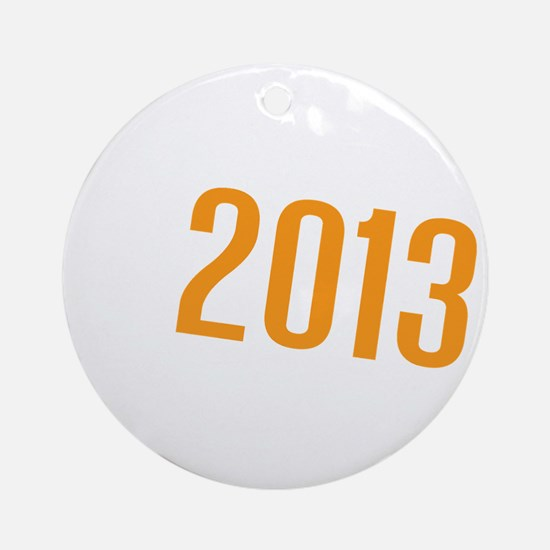 American Discovery 2013 Logo Round Ornament