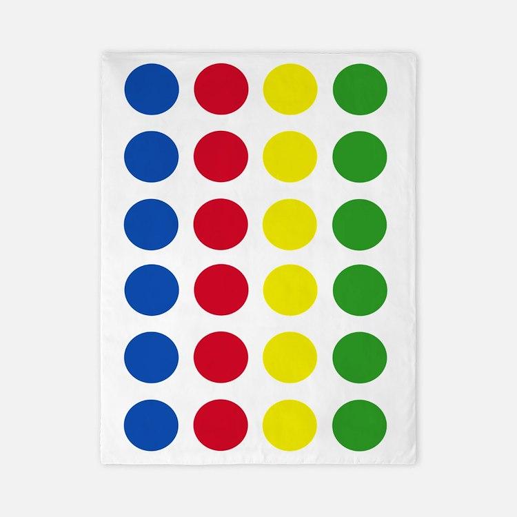 Twister Dots Twin Duvet
