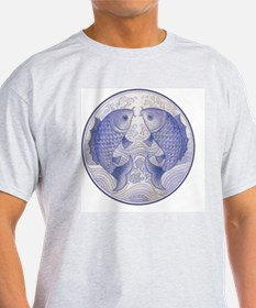 Asian Icthus Queen Sized T-Shirt