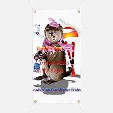 Groundhog Day-6 more weeks Banner