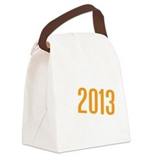 American Discovery Logo Canvas Lunch Bag