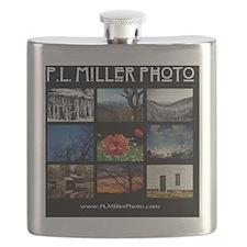 PL Miller Photo 2013 Logo Flask