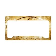faith is gold vintage License Plate Holder