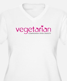 Vegetarian - Compassion Over Cruelty T-Shirt