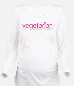 Vegetarian - Compassion Over Cruelty Long Sleeve M