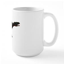 Aucasaurus dinosaur, artwork Mug
