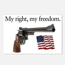 Second amendment my right Postcards (Package of 8)