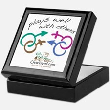 Plays Well with Others 10x10 dark col Keepsake Box