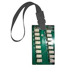CircuitBoard Luggage Tag