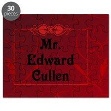 Mr. Edward Cullen Pillow Case Puzzle