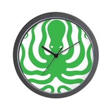 A cool octopus graphic tee t-shirt desi Wall Clock