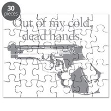 Out of my cold dead hands gun Puzzle