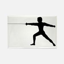 Guy Fencer Rectangle Magnet