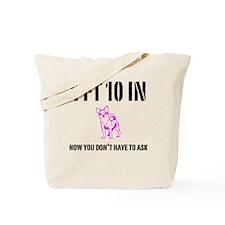Funny Short Tote Bag